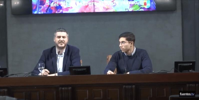 (Noticia) Alcalde y Delegado presentan el Carnaval de Fuentes de Andalucía en la Casa de la Provincia de Sevilla