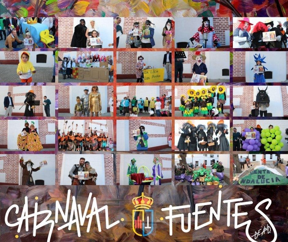 Entrega premios de concurso de disfraces #CarnavalFuentes2019 (incluye galería gráfica)