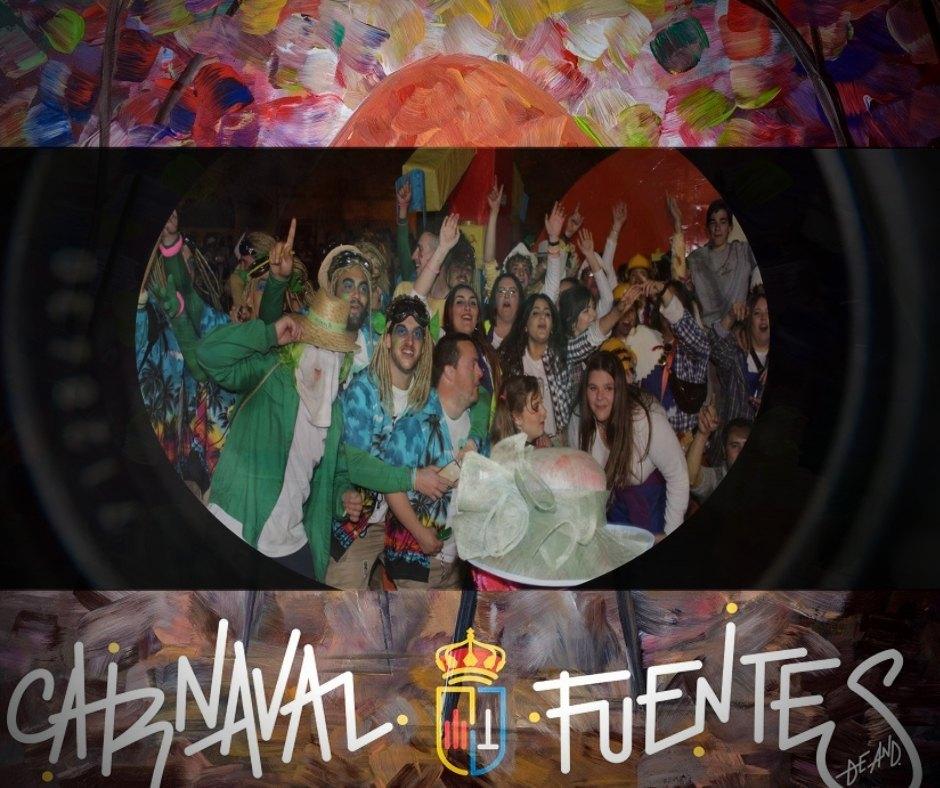 Galería gráfica del 'Domingo de Piñata' #CarnavalFuentes19